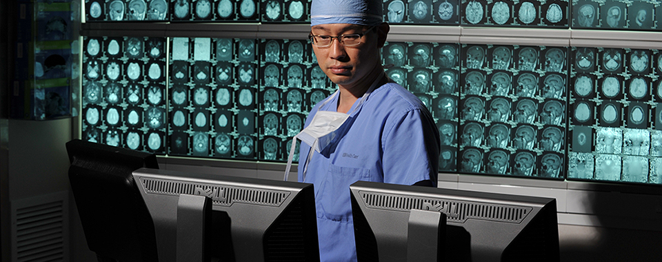 Albert Kim, MD, PhD, Brain Laser Center
